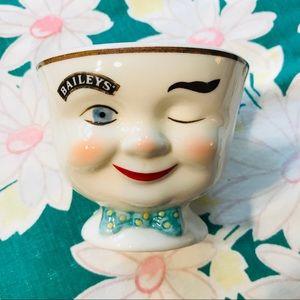 Vintage Bailey's Sugar Bowl Anthropomorphic